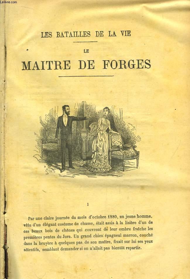 Oeuvres de G. Ohnet. TOME 1 : Les Batailles de la Vie. Le Maitre de Forges - Laz Comtesse Sarah