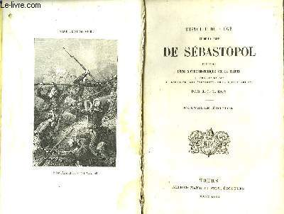 Histoire du Siège et de la Prise de Sébastopol