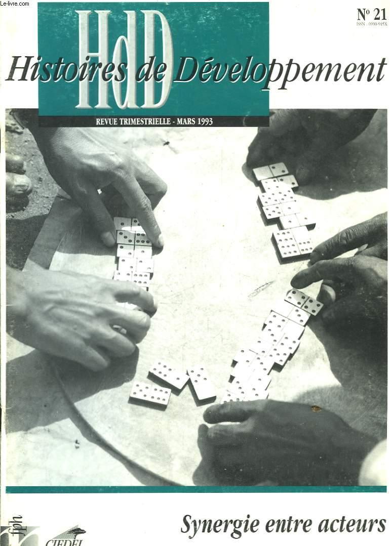 HdD, Histoires de Développement n°21 : Synergie entre acteurs.