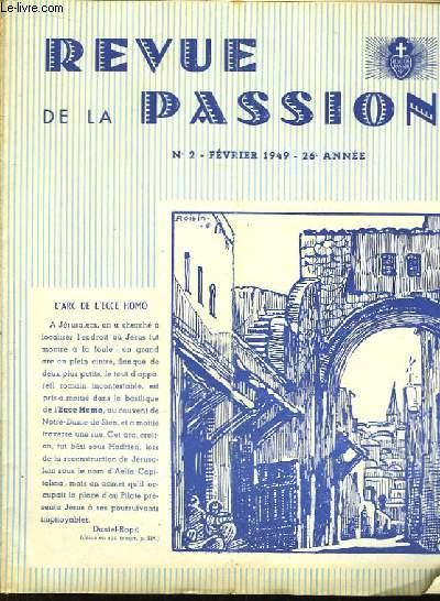 Revue de la Passion N°2, 26eme année.