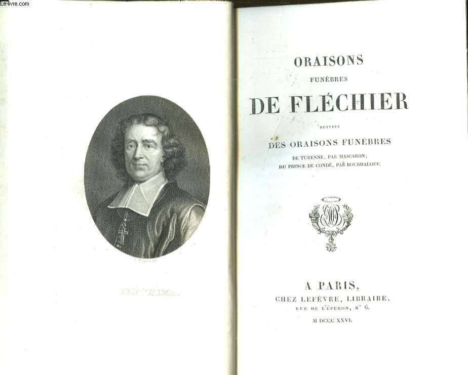 Oraisons Funèbres de Fléchier.