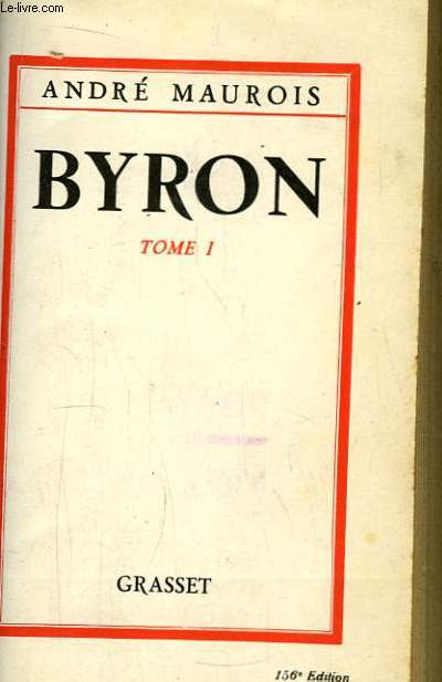 Byron. TOME 1