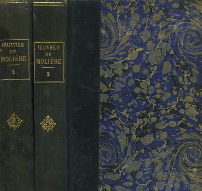 Oeuvres de Molière. en 2 TOMES