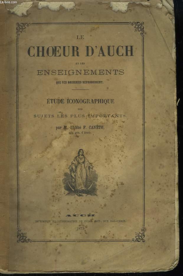Le Choeur d'Auch et les enseignements que ses boiseries reproduisent.
