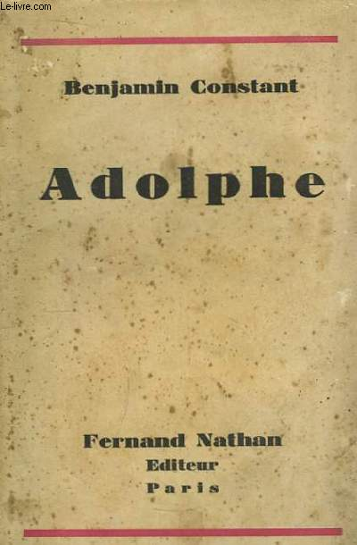 Adolphe.