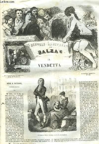 Oeuvres Illustrées de Balzac. La Vendetta