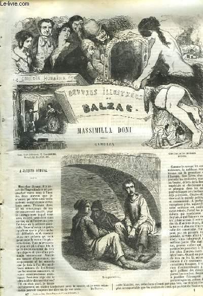 Oeuvres Illustrées de Balzac. Massimillia Doni - Gambara