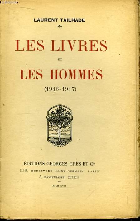 Les livres et les hommes (1916 - 1917)