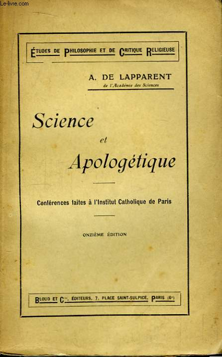 Science et Apologétique.
