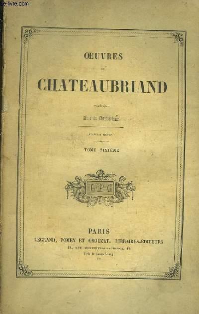 Oeuvres de Chateaubriand. TOME 6 : Génie du Christianisme.