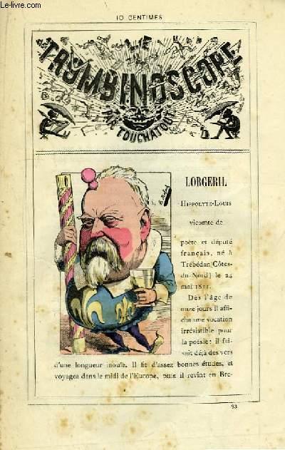 Le Trombinoscope N°93 : Hippolyte-Louis Lorgeril, Vicomte