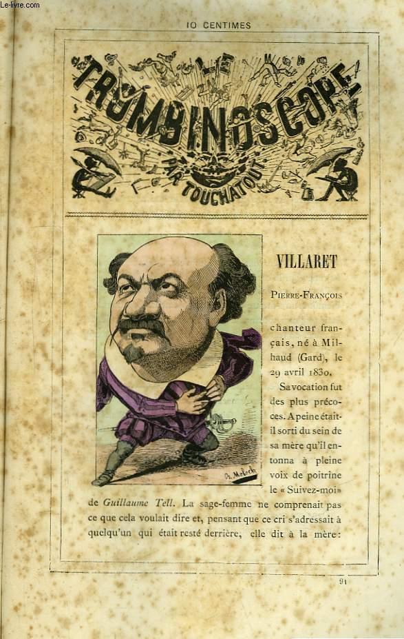 Le Trombinoscope N°91 : Pierre-François Villaret