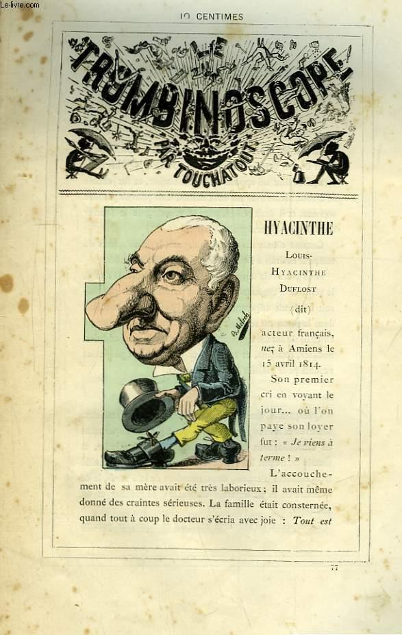 Le Trombinoscope N°77 : Louis-Hyacinthe Duflost, Dit Hyacinthe