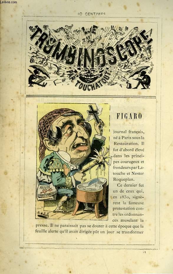 Le Trombinoscope N°74 : Figaro.