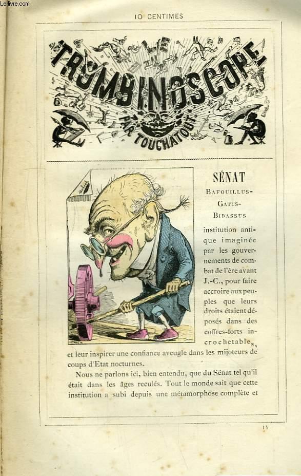 Le Trombinoscope N°14 : Sénat, Bafouillus-Gatus-Bibassus