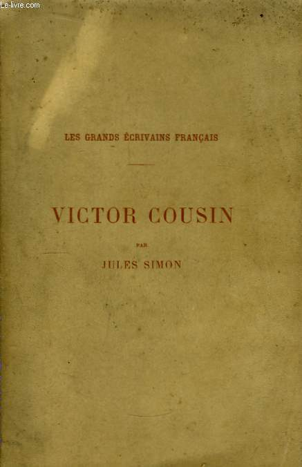 Victor Cousin.