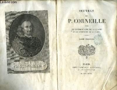 Oeuvres de Corneille. TOME Ier