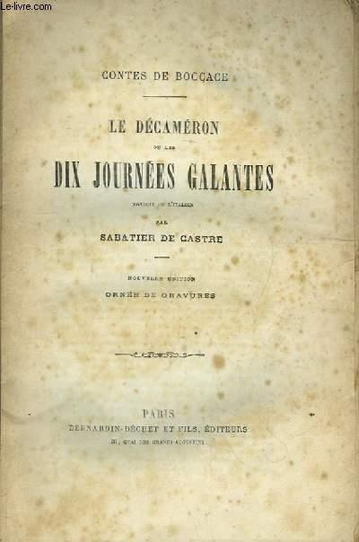 Le Décaméron ou les Dix Journées Galantes