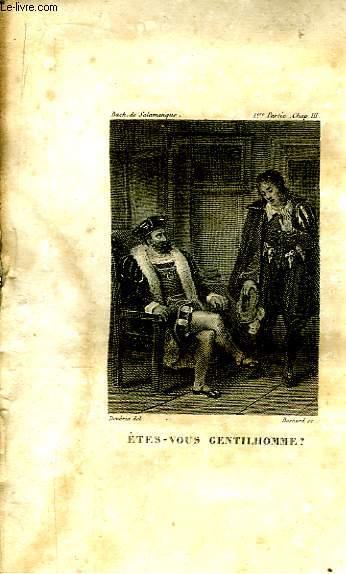 Le Bachelier de Salamanque, ou Mémoires et Aventures de Don Chérubin de la Ronda. TOME 1er