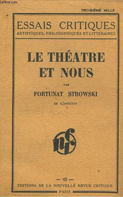 Le Théâtre et Nous.