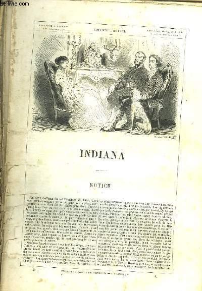 Indiana, suivi de Melchior.