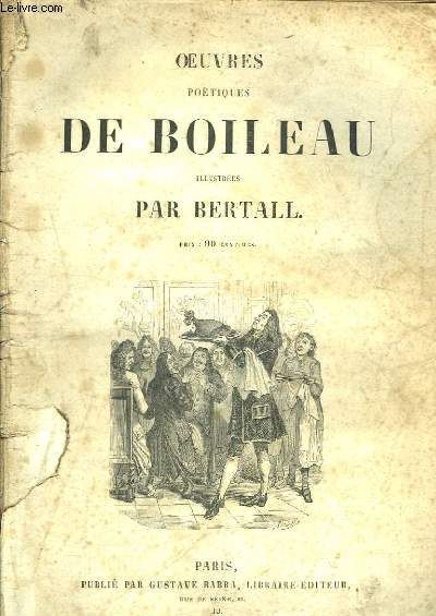 Oeuvres Poétiques de Boileau