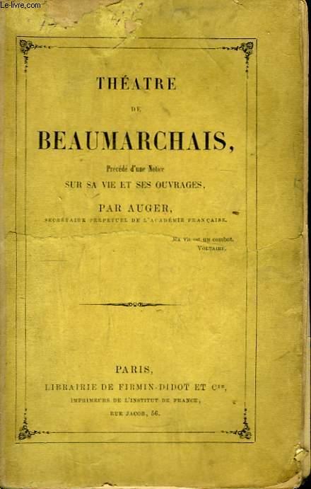 Théâtre de Beaumarchais.