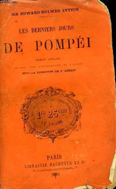 Les Derniers Jours de Pompéi.