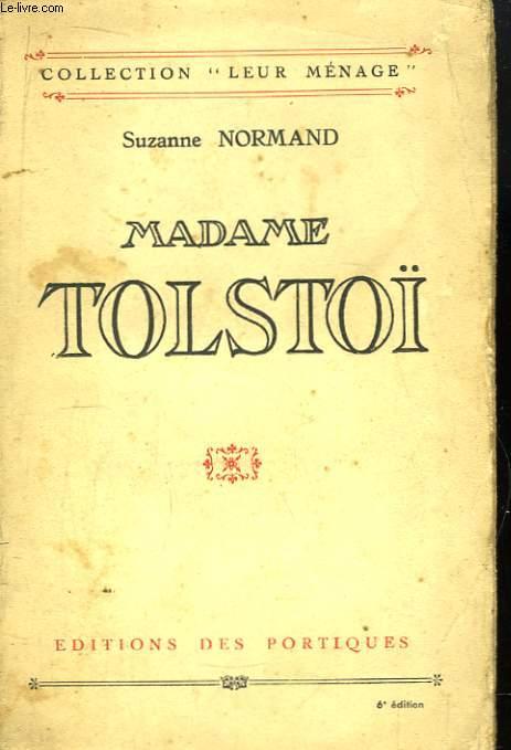 Madame Tolstoï.