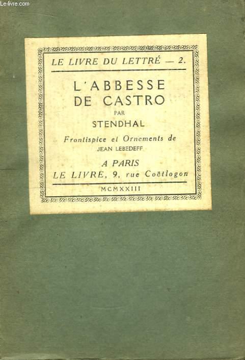 L'Abesse de Castro.