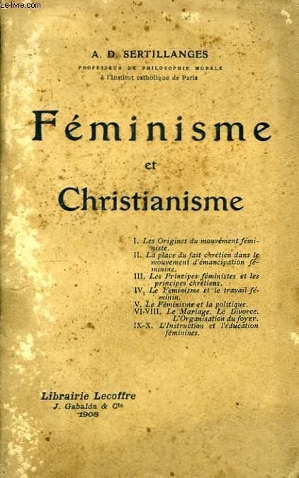 Féminisme et Christianisme.
