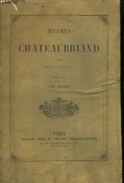 Oeuvres de Chateaubriand. TOME 7ème : Itinéraire de Paris à Jérusalem.