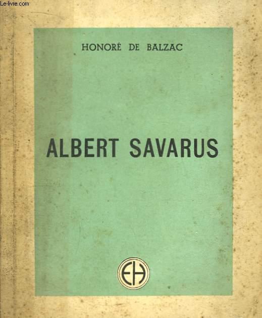 Albert Savarus.