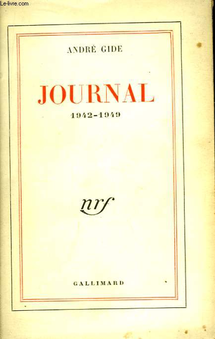 Journal 1942 - 1949
