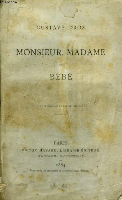 Monsieur, Madame et Bébé.