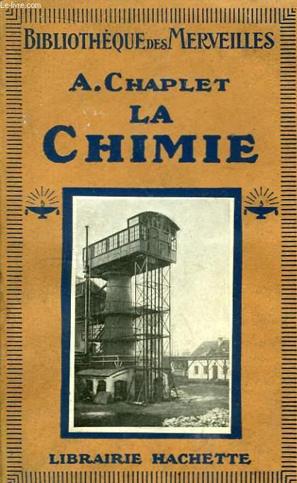 La Chimie.