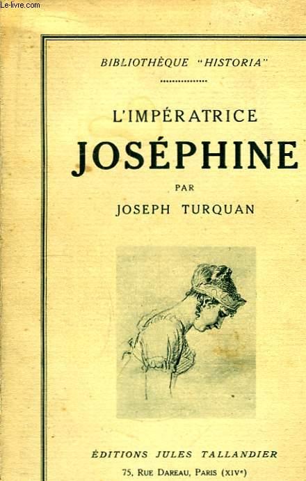L'Impératrice Joséphine.