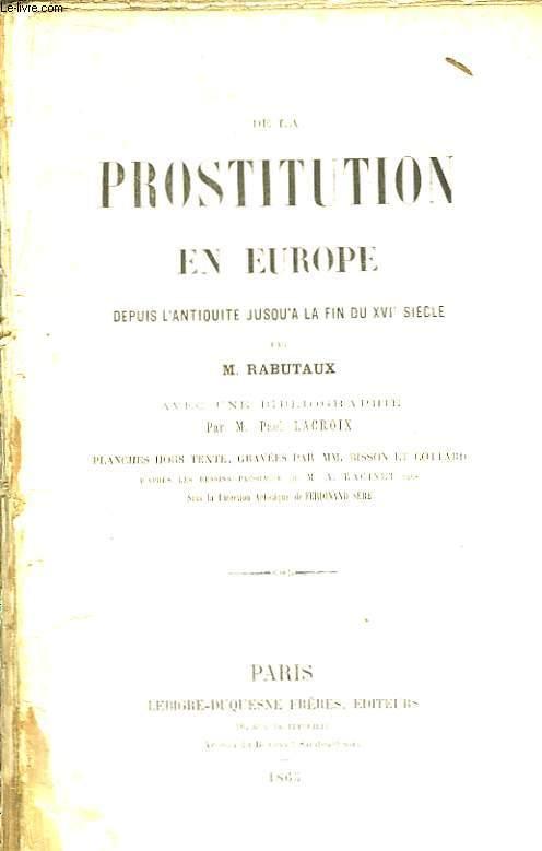 prostituee antiquite