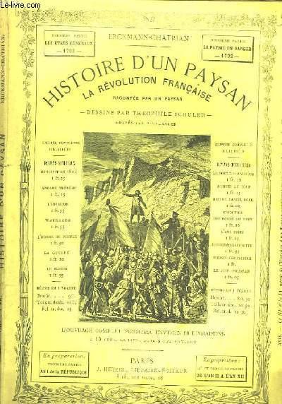 Histoire d'un Paysan. La Révolution Française, racontée par un paysan. 3ème série