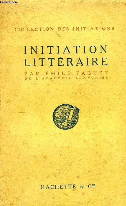 Initiation Littéraire.