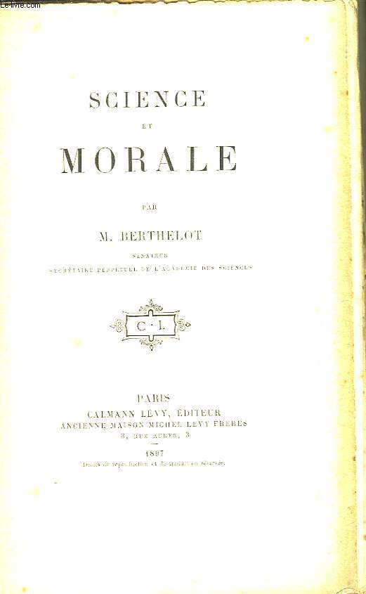 Science et Morale.