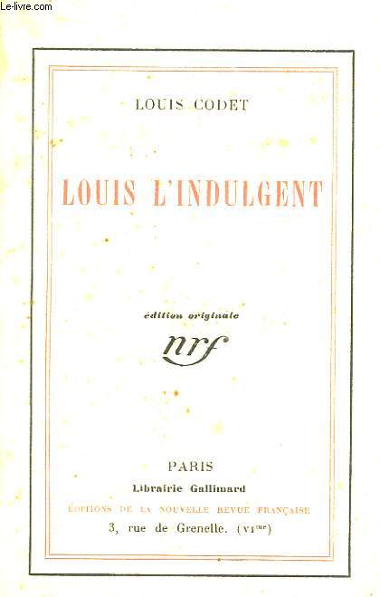 Louis l'Indulgent.