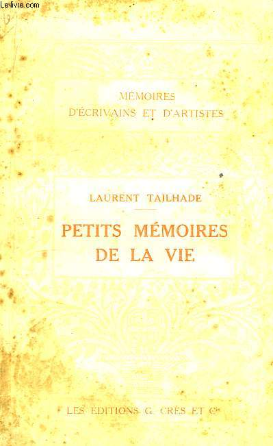 Petits Mémoires de la Vie.