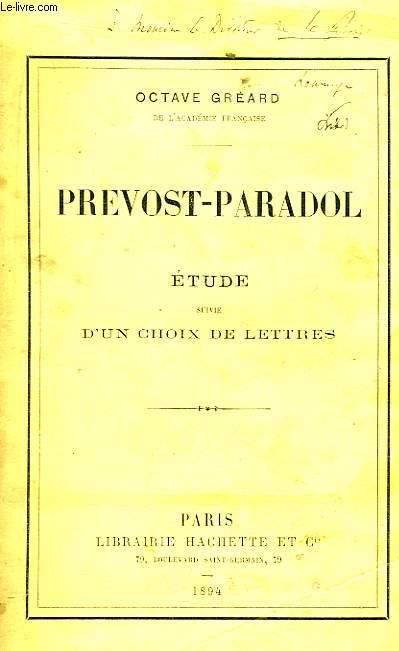 Prevost-Paradol.