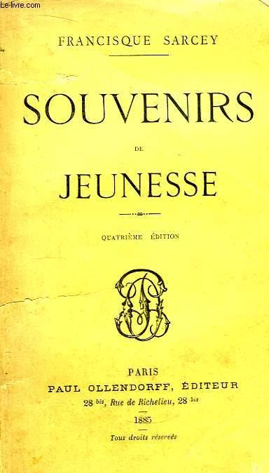 Souvenirs de Jeunesse.