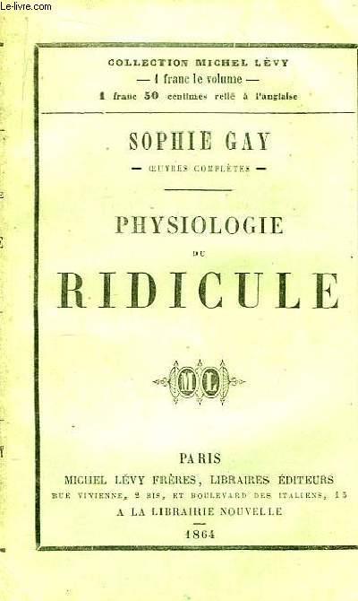 Physiologie du ridicule