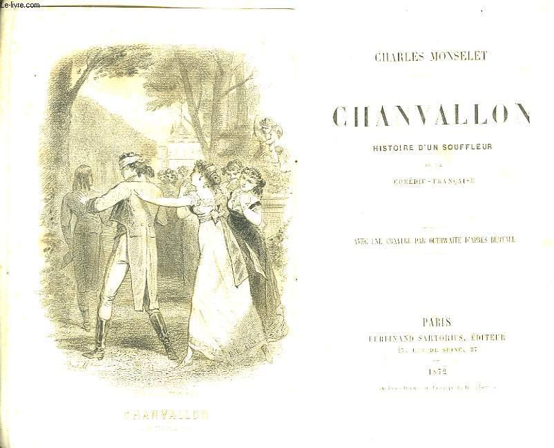 Chanvallon. Histoire d'un souffleur de la Comédie-Française.