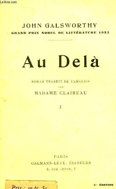 Au Delà. TOME 1