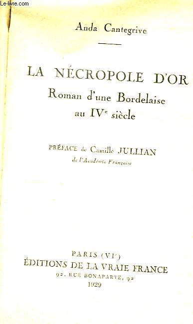 La Nécropole d'Or