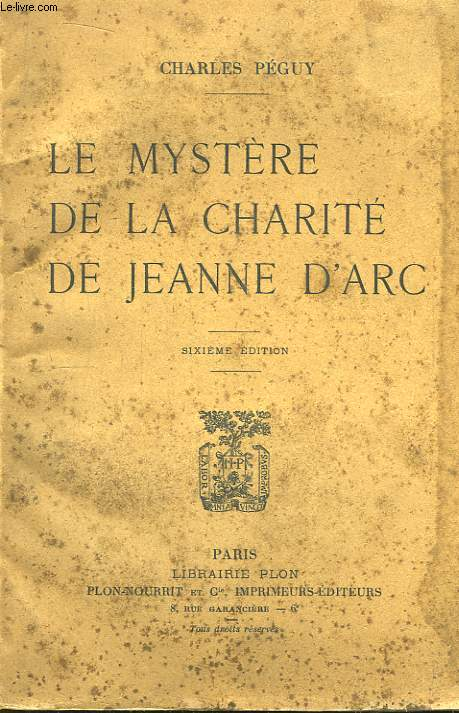 Le Mystère de la Charité de Jeanne d'Arc.